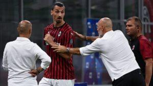 Zlatan Ibrahimovic Kembali Marah Kepada Pelatih AC Milan