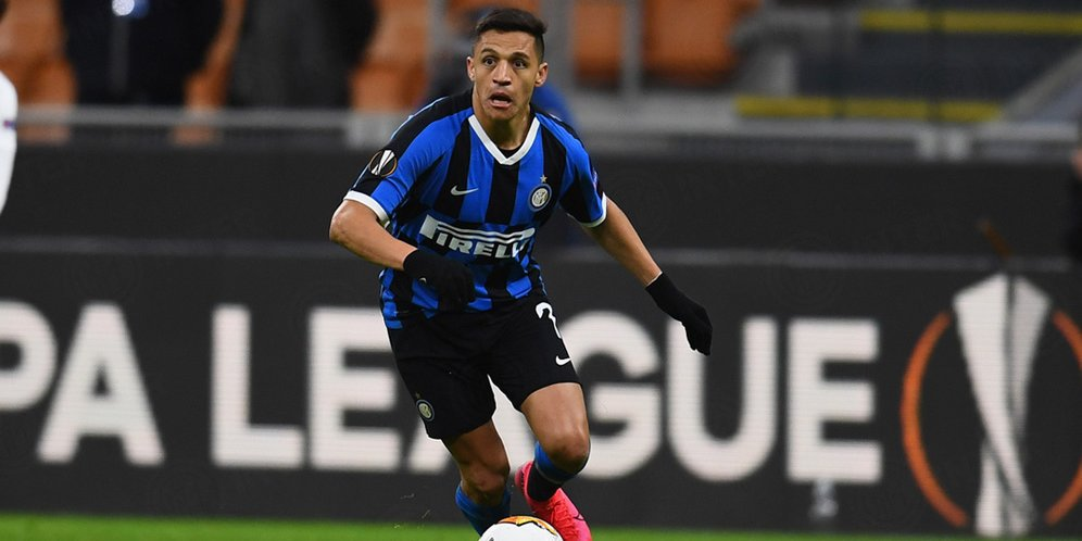 Alexis Sanchez Siap Perpanjang Masa Pinjaman di Inter Milan